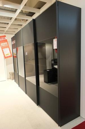 Schwebetürenschrank schwarz matt  Schwebetürenschrank 20up — Möbel Preiss