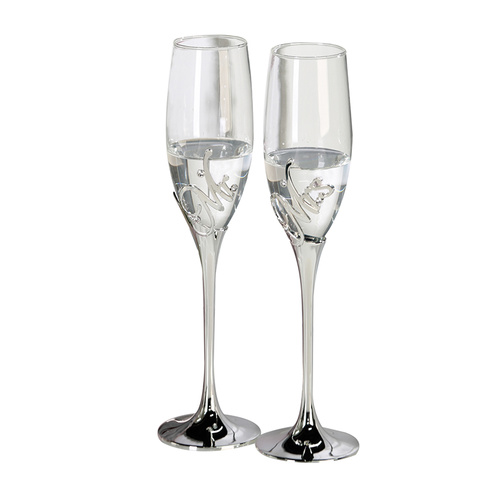 Champagnerglas Mr. + Mrs - Möbel Preiss