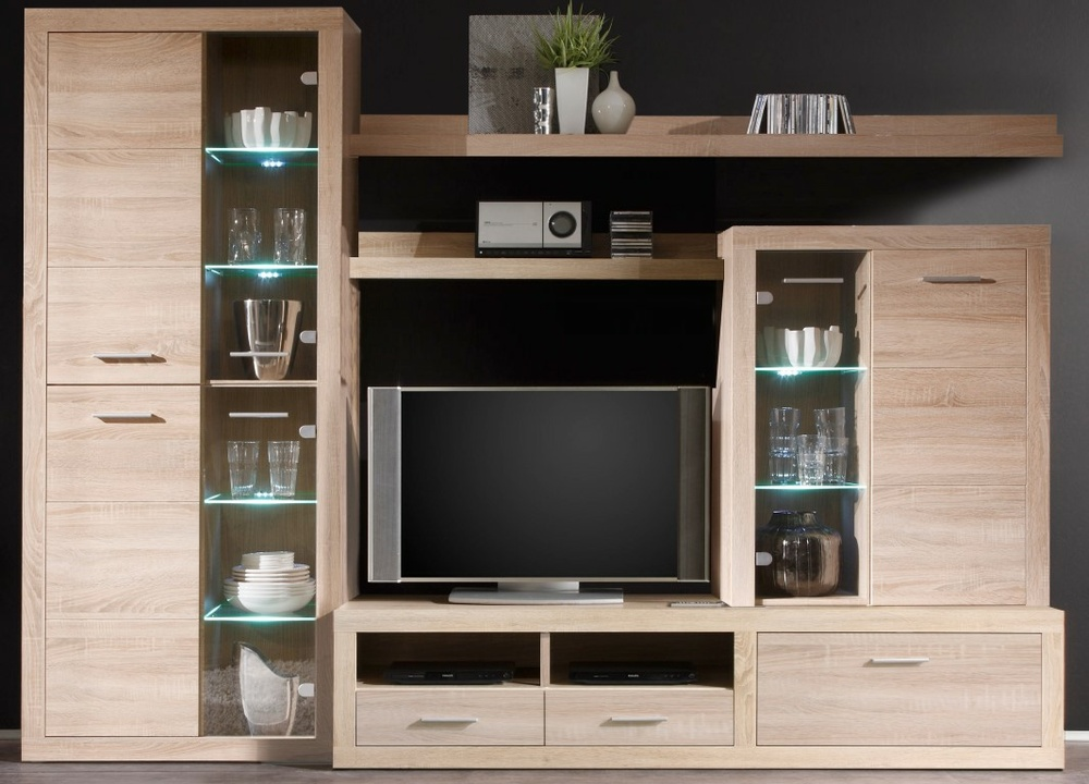 anbauwand can can 5 m bel preiss. Black Bedroom Furniture Sets. Home Design Ideas