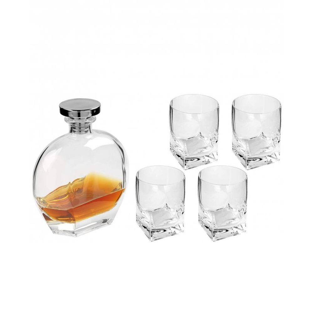Whiskyset Galway 5-teiliges Set - Möbel Preiss