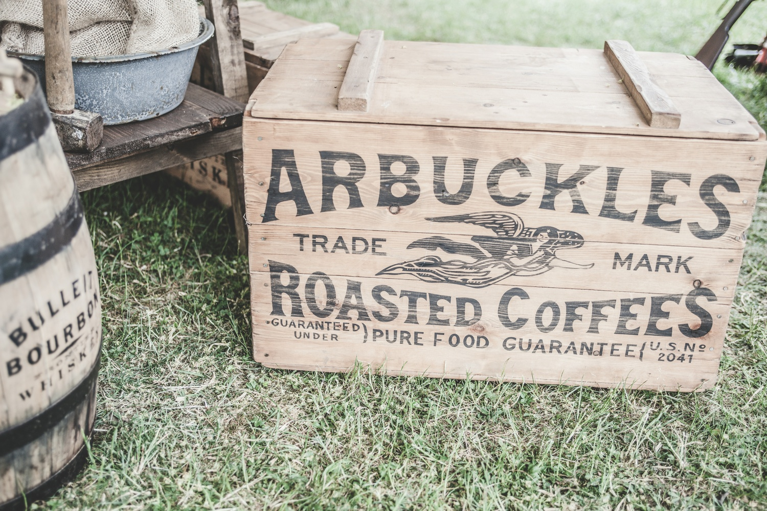 Vintage coffee crate - Möbel Preiss