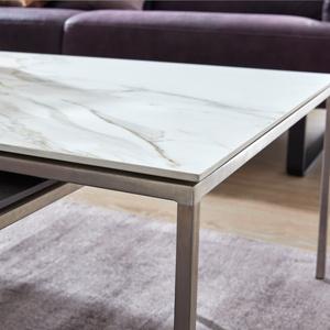 Interliving Couchtisch Serie 6201 Keramik Carrara Mobel Preiss