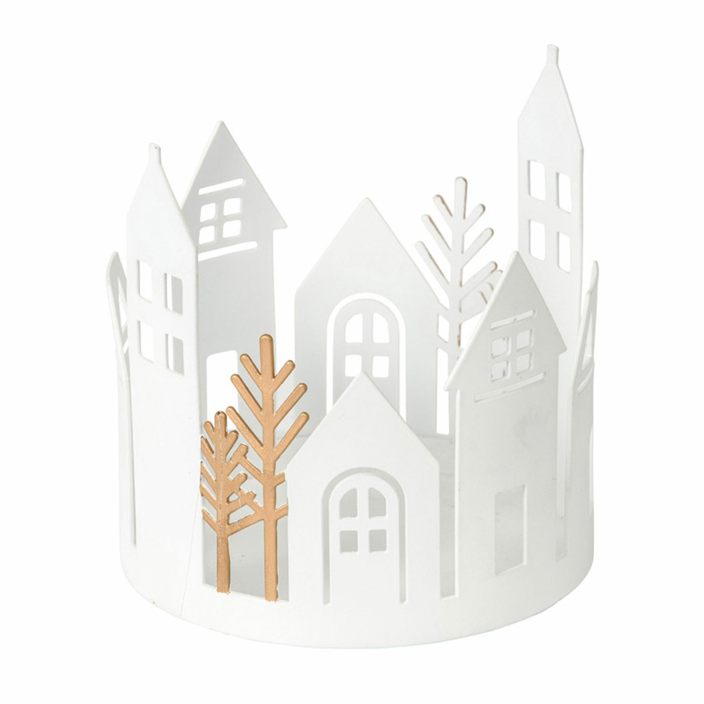 Glashalter Winter Village Jar Möbel Preiss