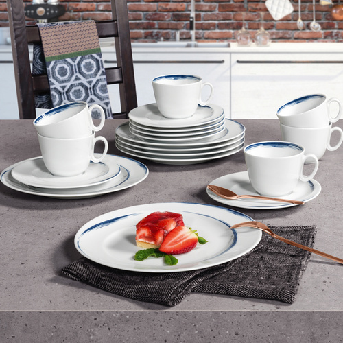 Kaffeeservice Paso Blue Brush 25708 - Möbel Preiss