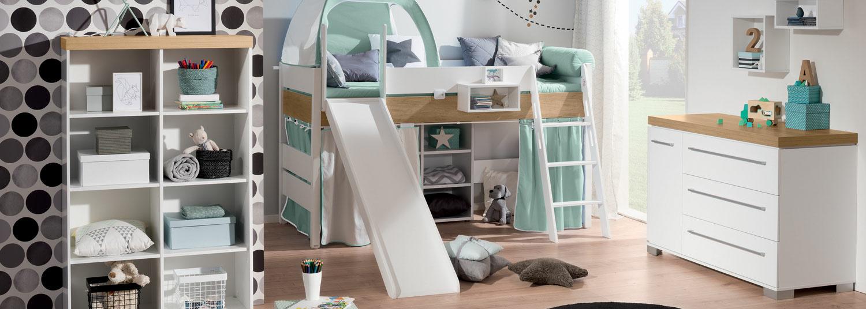Kinderzimmer Kira — Möbel Preiss
