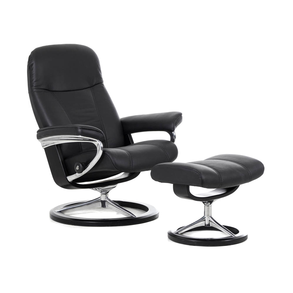stressless sessel consul m m bel preiss. Black Bedroom Furniture Sets. Home Design Ideas