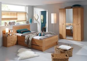 Schlafzimmer Vinzent | Ausf. Z1050 Erle natur, teilmassiv ...