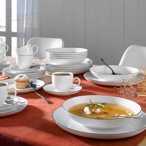 seltmann weiden tafelservice lido black line m bel preiss. Black Bedroom Furniture Sets. Home Design Ideas